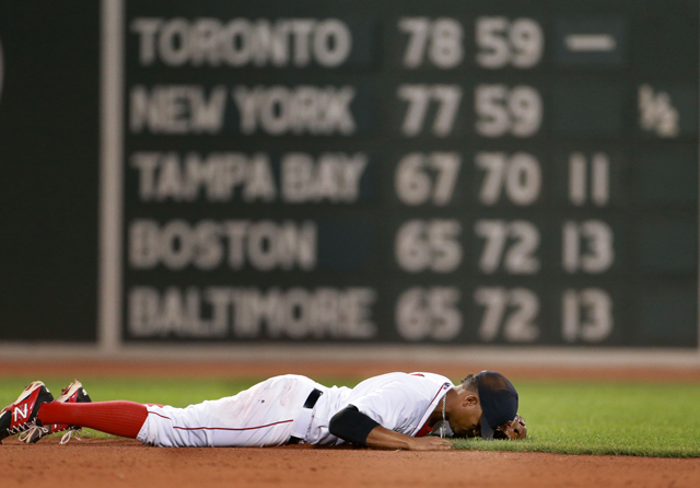 Red Sox SS Xander Bogaerts